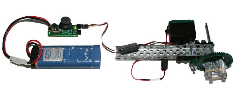 motor tester demonstration